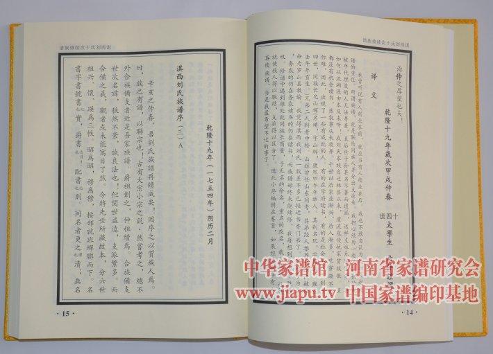 临淇镇 淇西 刘氏族谱图片