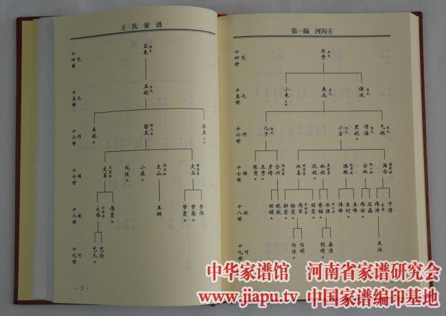 郑州圃田王氏家谱-中国家谱网图片