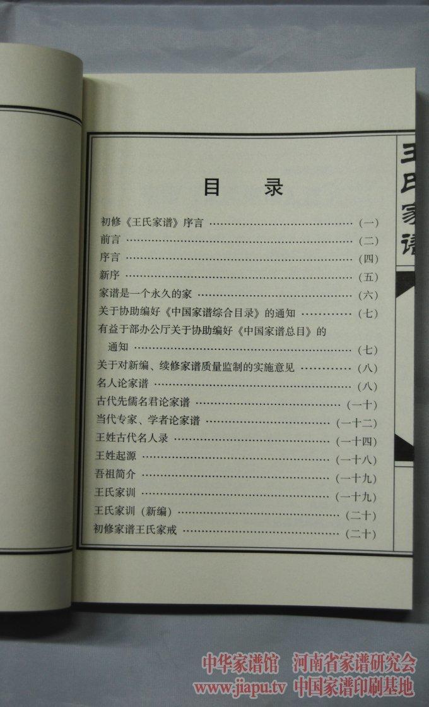 河南辉县王氏家谱-中国家谱网图片