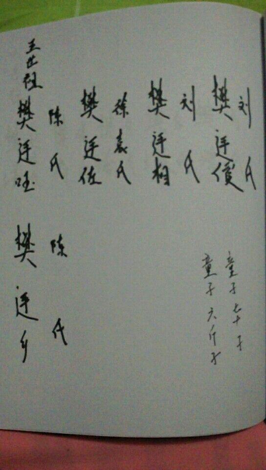 樊氏家谱网 樊氏字辈 >> 浏览文章