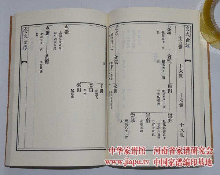 安氏家谱网 提供各省市区的安氏家谱